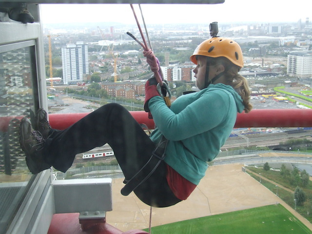 Are You Brave Enough To Abseil Down The Orbit?