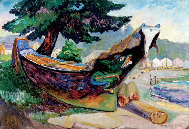 Emily Carr: Paintings Of Canadian Landscapes And Native Culture