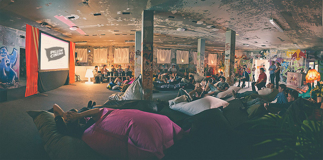 Pillow Cinema: A Cosy Night In, Out In Shoreditch