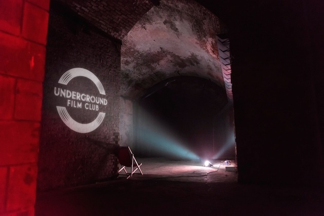 Victorian Vaults Host Underground Film Club