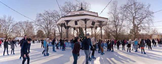 Seasonal Skating: London's Christmas Ice Rinks 2014