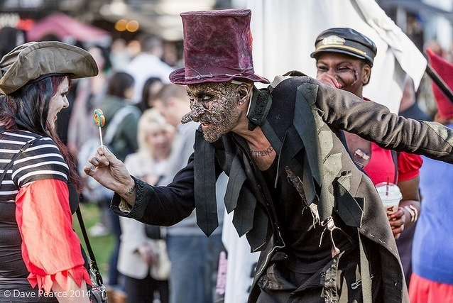 In Pictures: World Zombie Day 2014