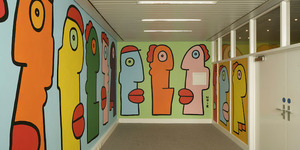 Thierry Noir Paints Up The German Embassy