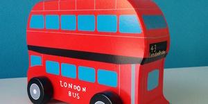 London Gift Guide: Wooden Double Decker