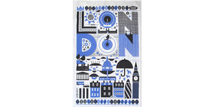 London Gift Guide: Tea Towel