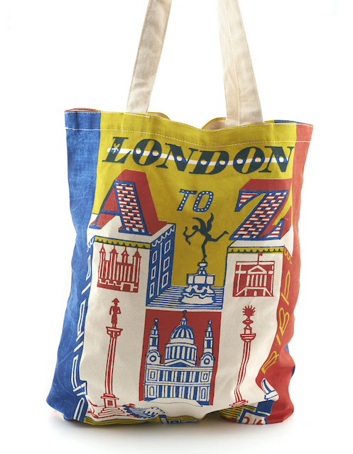 London Gift Guide: London A-Z Tote Bag