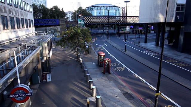 Video: Empty London