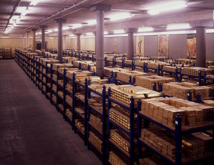 There's tonnes of gold beneath London's streets...
