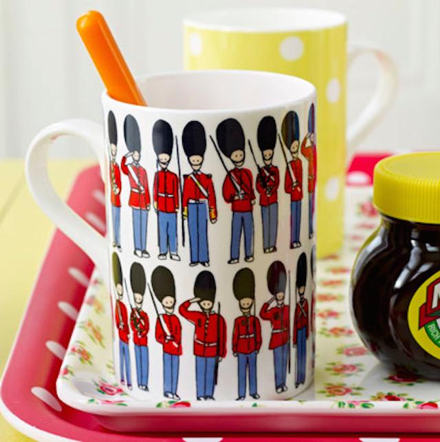 London Gift Guide: Cath Kidston Guards Mug