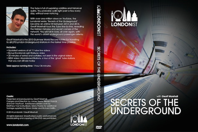 London Gift Guide: Secrets Of The Underground DVD