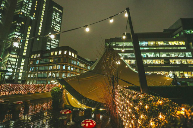 Get Cosy In A Rooftop Wigwam This Winter