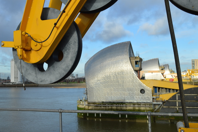Beneath The Thames Barrier
