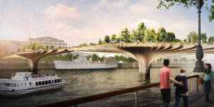 Sadiq stops Garden Bridge project over extra money worries