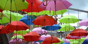 Don't Be A Brolly Wally In London