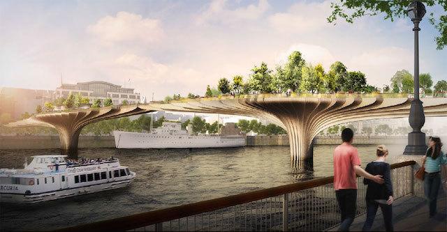 The Garden Bridge project has been halted due to fears over public spending