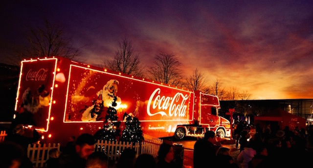 Holidays Are Coming (As Is A Hulking Great Lorry)