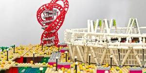 Lego London Landmarks At ArcelorMittal Orbit Exhibition