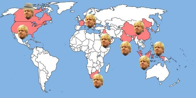 Mapped: Where's Boris?