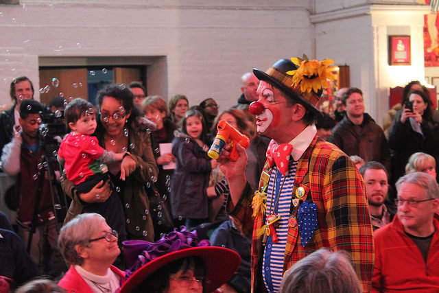 Clown Around In Church This Sunday