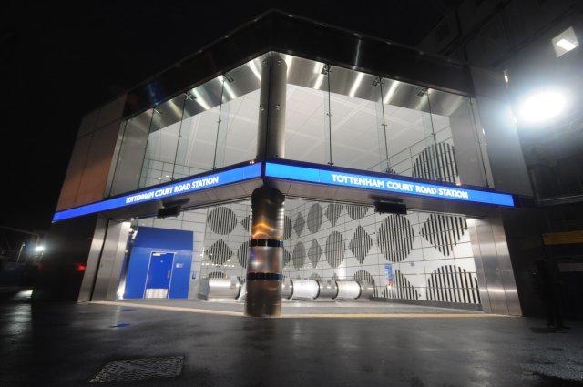 New Tottenham Court Road Station Opens