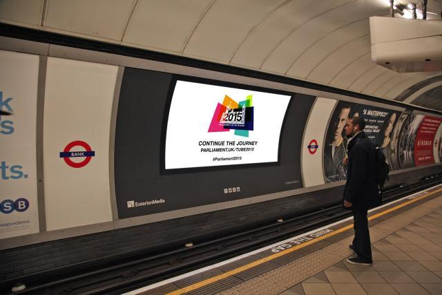 Watch Out For Films Of Parliament's History At Tube Stations