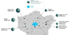 Nine Zones In London Earmarked For Housing Boost
