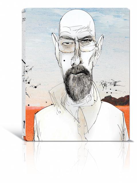 See Ralph Steadman's Breaking Bad Portraits In Shoreditch