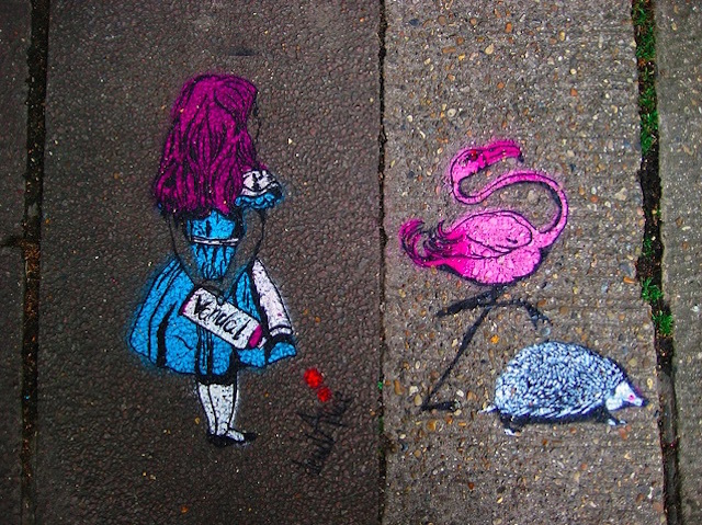 The Curious London Of Alice In Wonderland