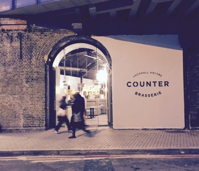 Counter: French American Dining Under Vauxhall's Arches