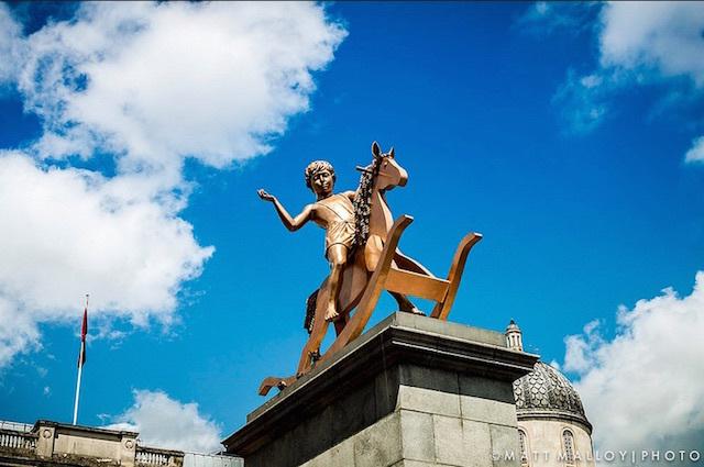 Friday Photos: The Fourth Plinth, Trafalgar Square