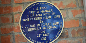 Mapped: The First Shops Of London's Food Chains