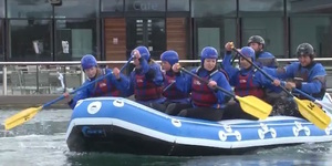 We Took On The Olympic White Water Rapids At Lee Valley