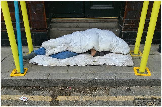 Rough Sleeping Increases 37% Over The Last Year
