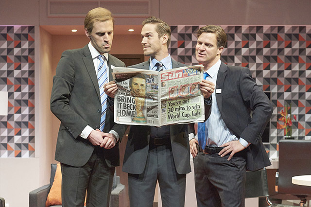 Three Lions: Footy Farce At St James Theatre