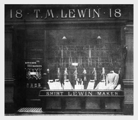 T.M.Lewin's SS15 Collection Finds London Inspiration