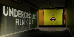 Disused Platforms Of Charing Cross Become Pop-Up Cinema