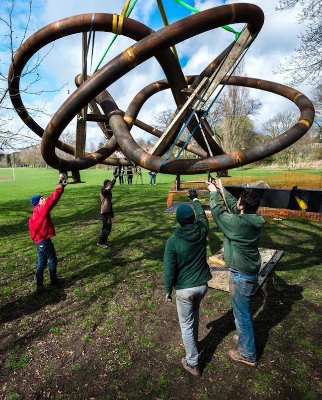 Dulwich Park Gets Replacement For Stolen Hepworth Sculpture