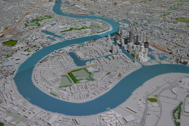 Swish New Scale Model Of London Unveiled
