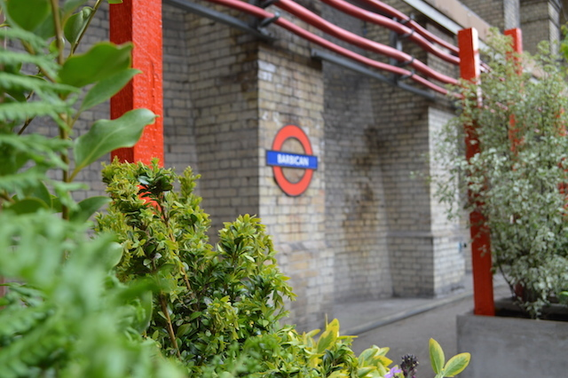 Barbican Station Gets A Pop-Up Garden