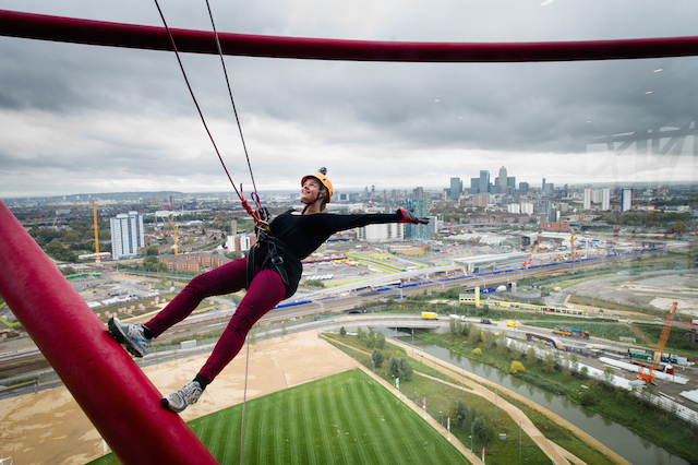 Abseil Your Way Down The ArcelorMittal Orbit