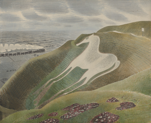 Heavenly Watercolours By Ravilious At Dulwich Picture Gallery