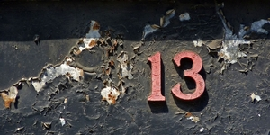 London's Fear Of The Number 13