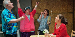Women On The Verge Of Extreme Karaoke: The Flannelettes