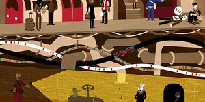 See Subterranean London In These Unique Illustrations