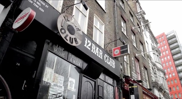 Goodbye To Tin Pan Alley's 12 Bar Club