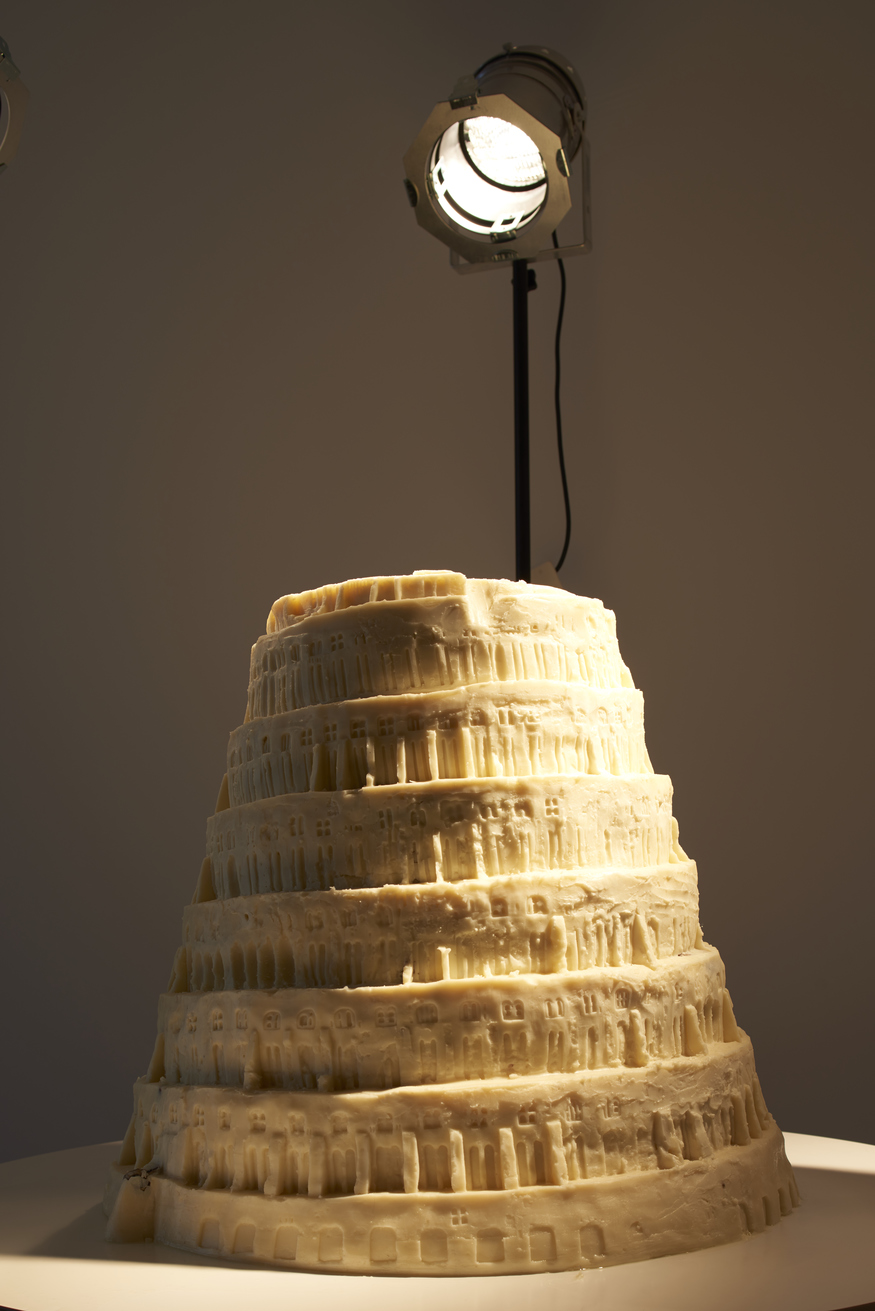 See Resurrected Peas And A Vegetable Fat Tower Of Babel