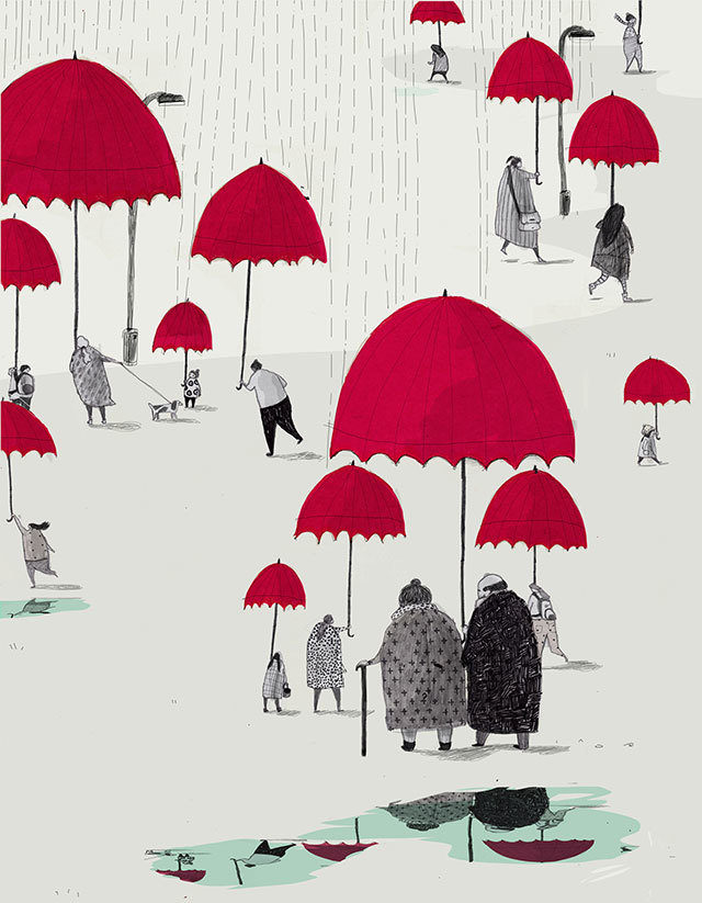 We Love London In The Rain