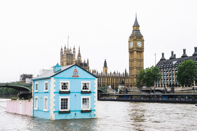 There's A House Floating On The Thames!