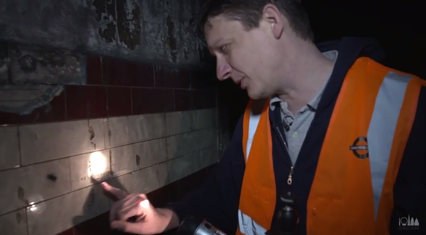 A visit to the disused Down Street tube station: