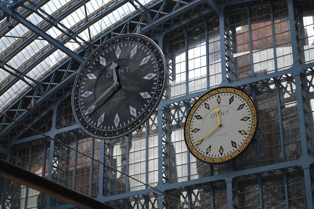 St Pancras International Gets A Sinister New Clock